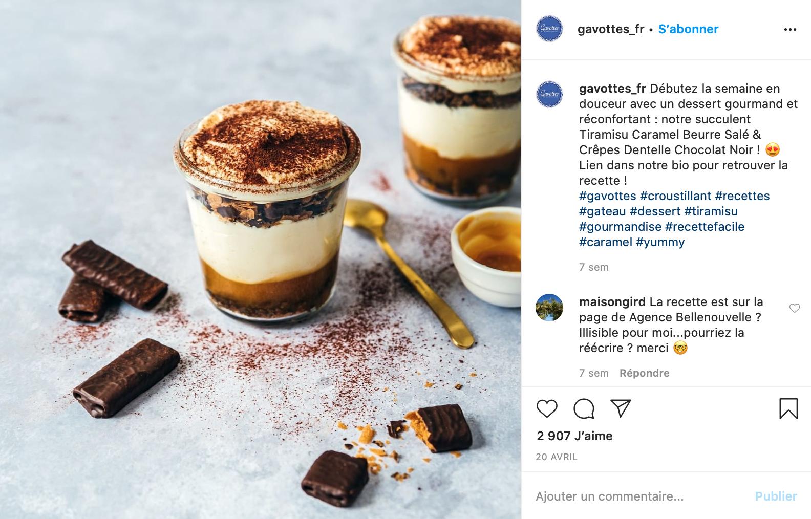 Instagram-gavottes